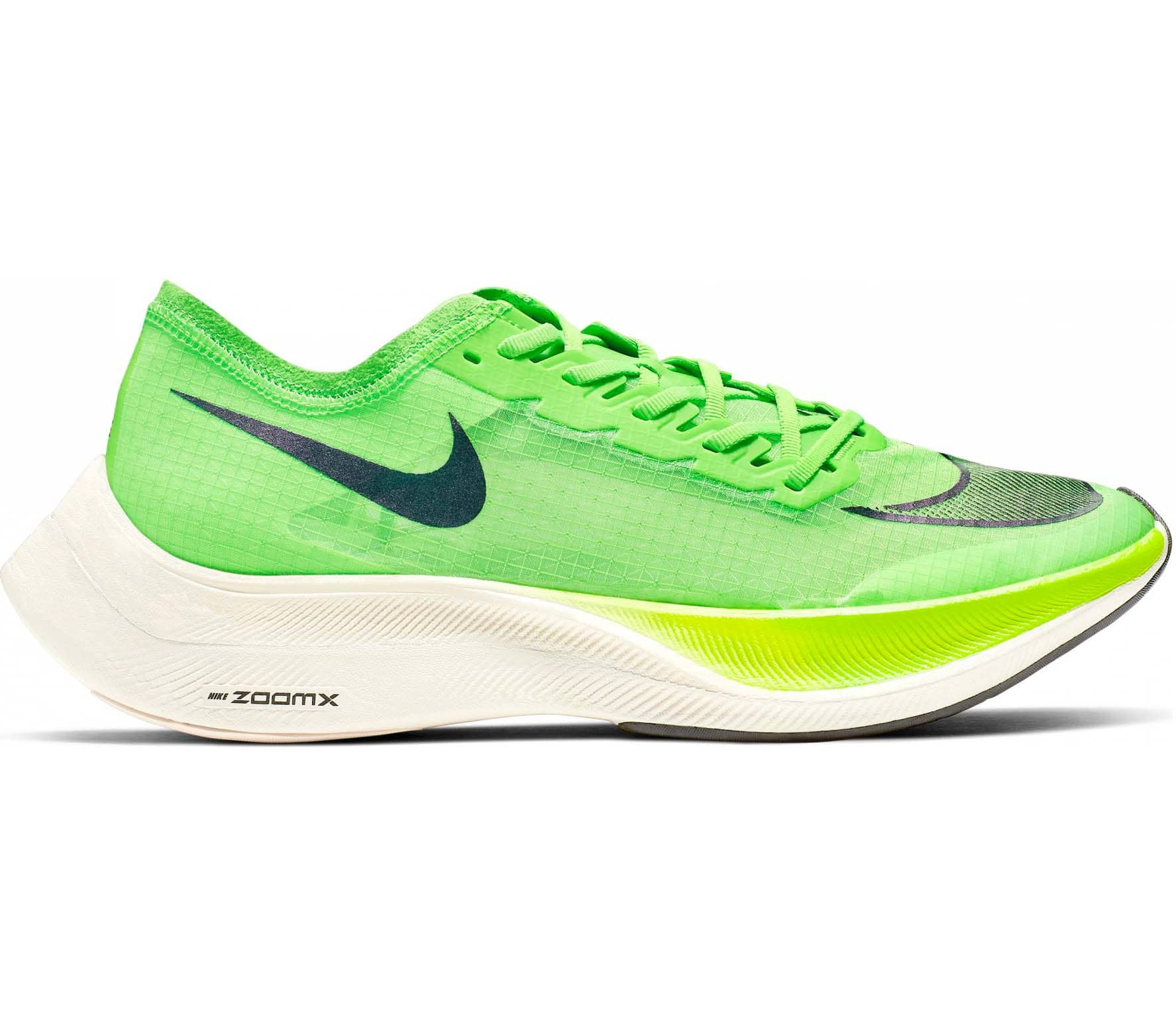 Nike ZoomX Vaporfly Next% Unisex Running Shoes  green