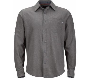 Marmot - Windshear Långärmad Herr utomhus skjorta (mörkgrå)