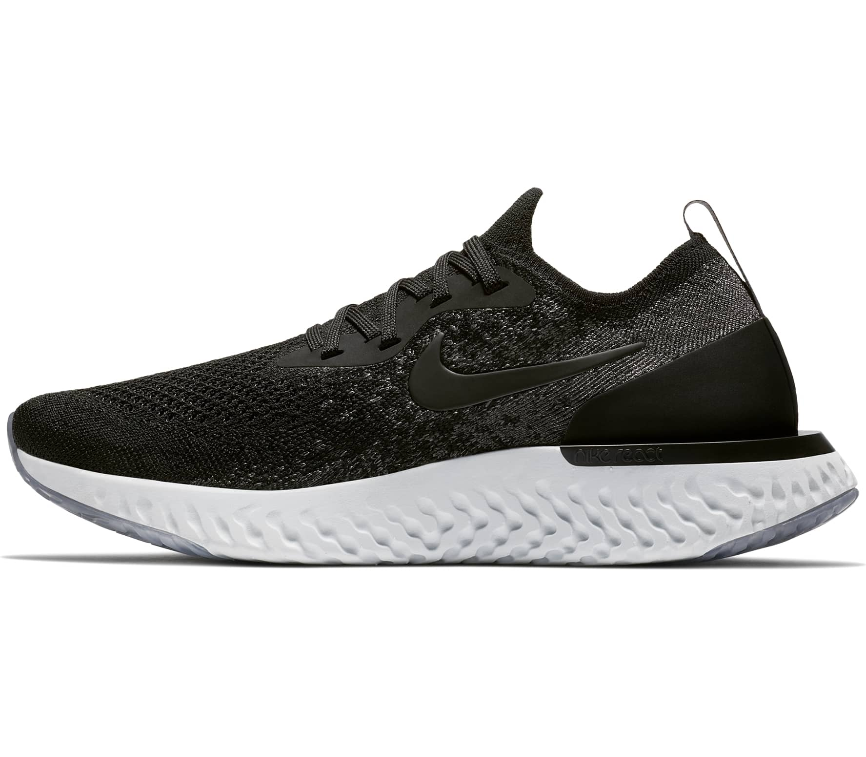 7924a9364543 Nike - Epic React Flyknit women s running shoes (black grey) - buy ...
