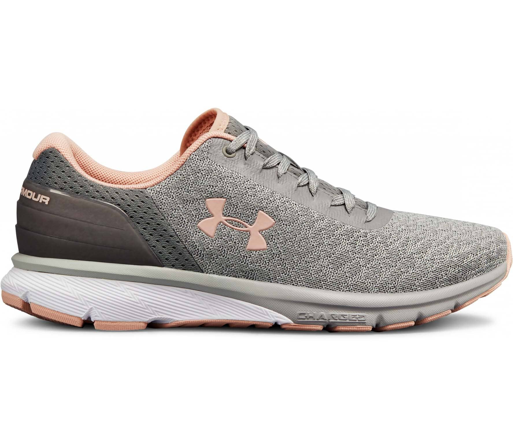 88e702948dfb Under Armour - Charged Escape 2 women s running shoes (grey) Køb ...