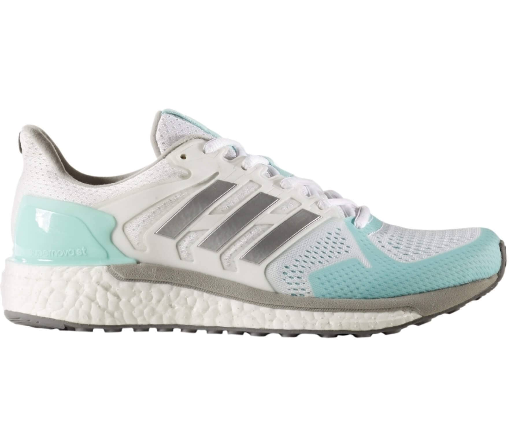 77874ba11ffce5 Adidas - Supernova ST women s running shoes (white light yellow ...