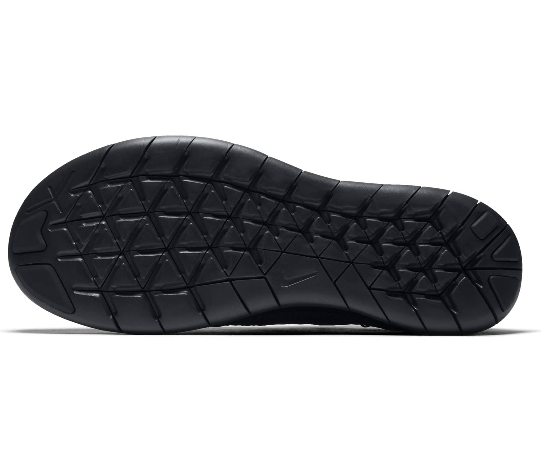 Nike - Free RN Flyknit 2017 zapatillas de running para mujer (negro)
