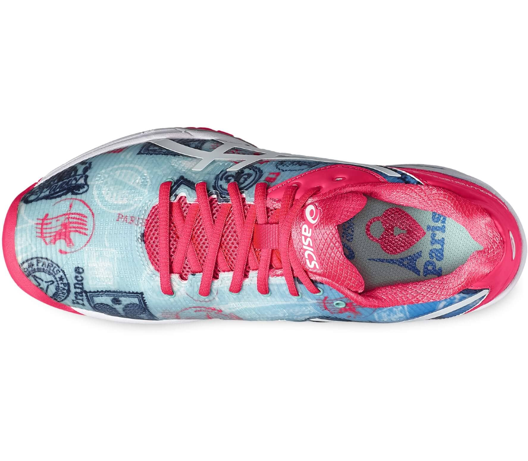 26ec4ce4eecd Asics - Gel-Solution Speed 3 L.E. Pari women s tennis shoes (blue pink
