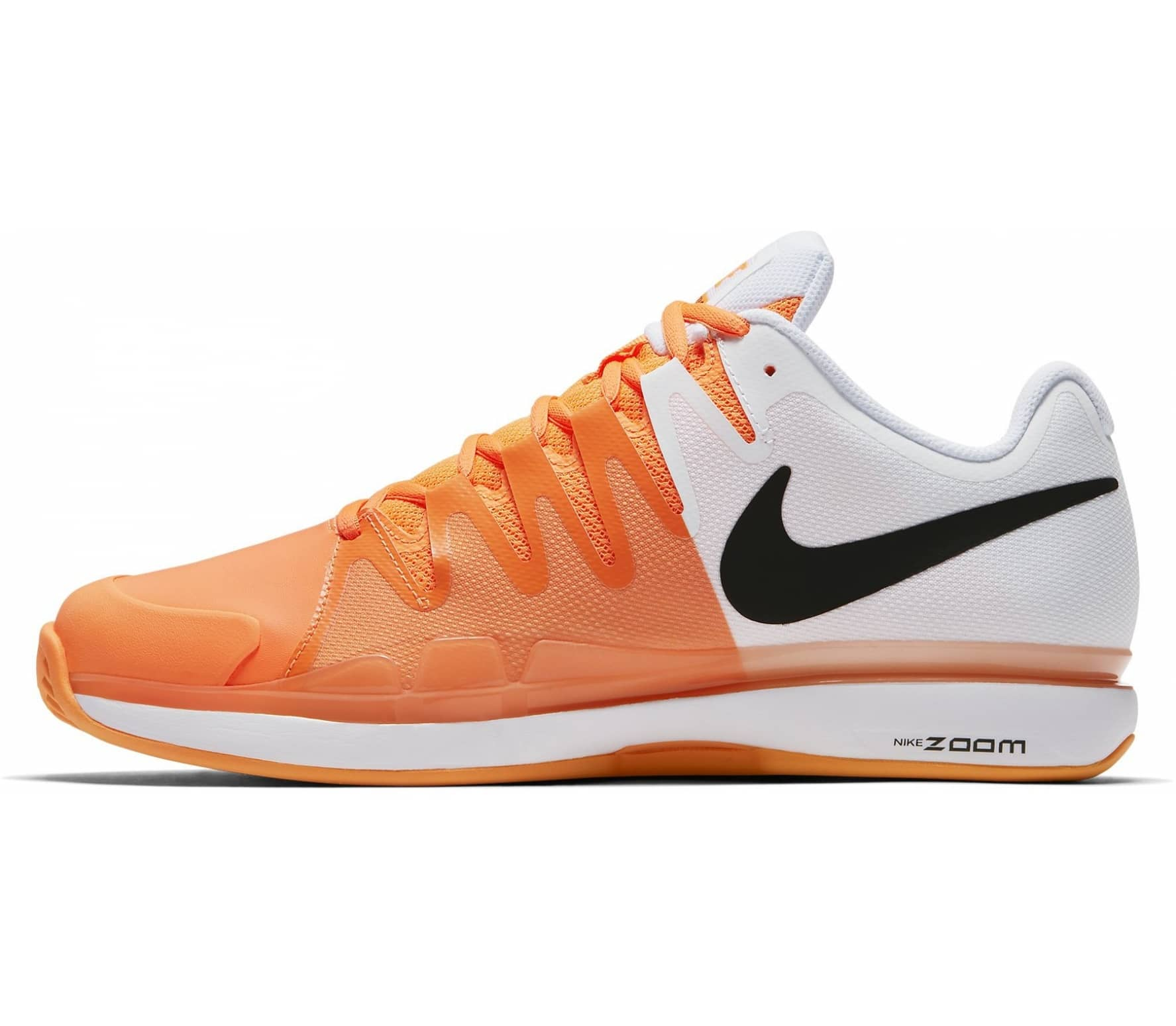 Nike - Air Zoom Vapor 9.5 Tour Clay Enfants Chaussure de tennis (blanc  Orange 651e655ede4