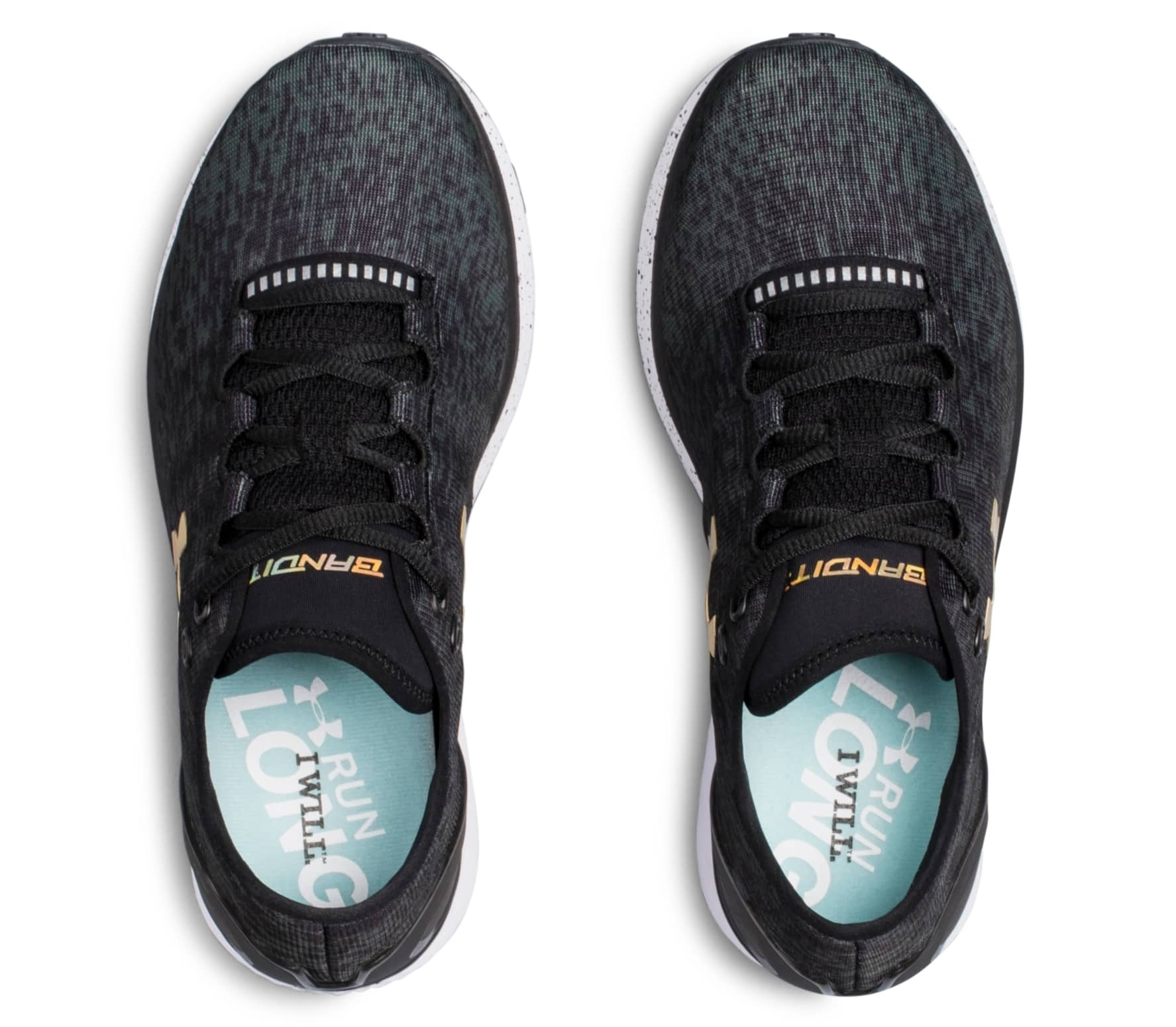 reputable site 2fd62 7fda3 Under Armour Charged Bandit 3 Ombre Women black
