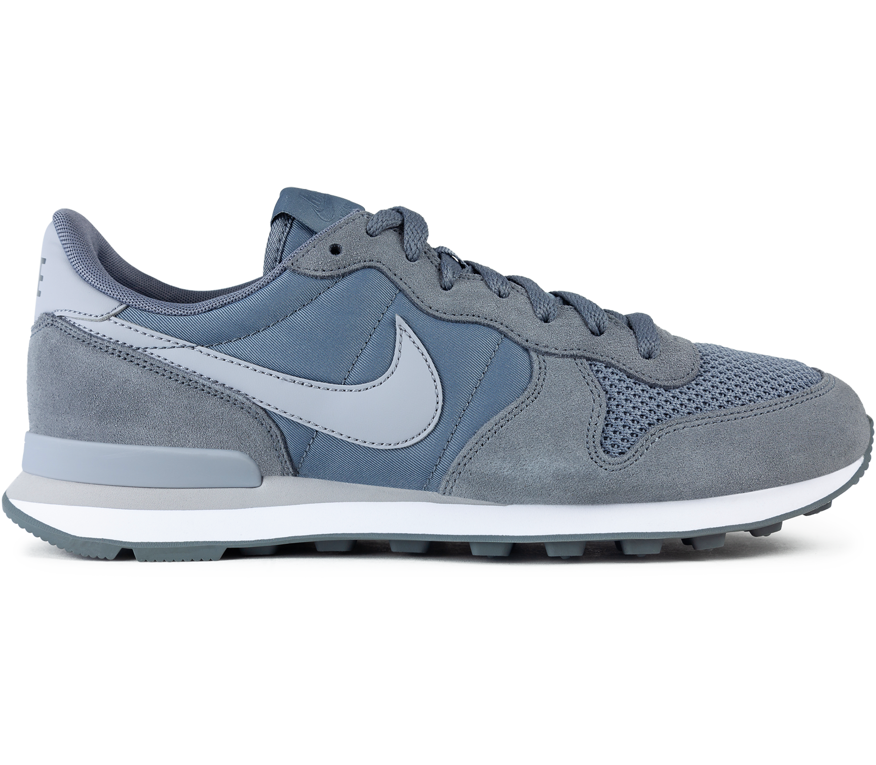 nike internationalist gris hombre