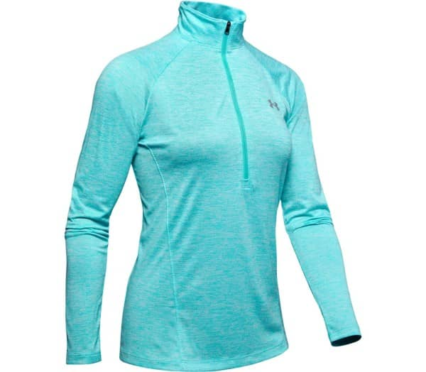 UNDER ARMOUR Tech 1/2 Zip - Twist Mujer Camiseta de manga larga funcional - 1
