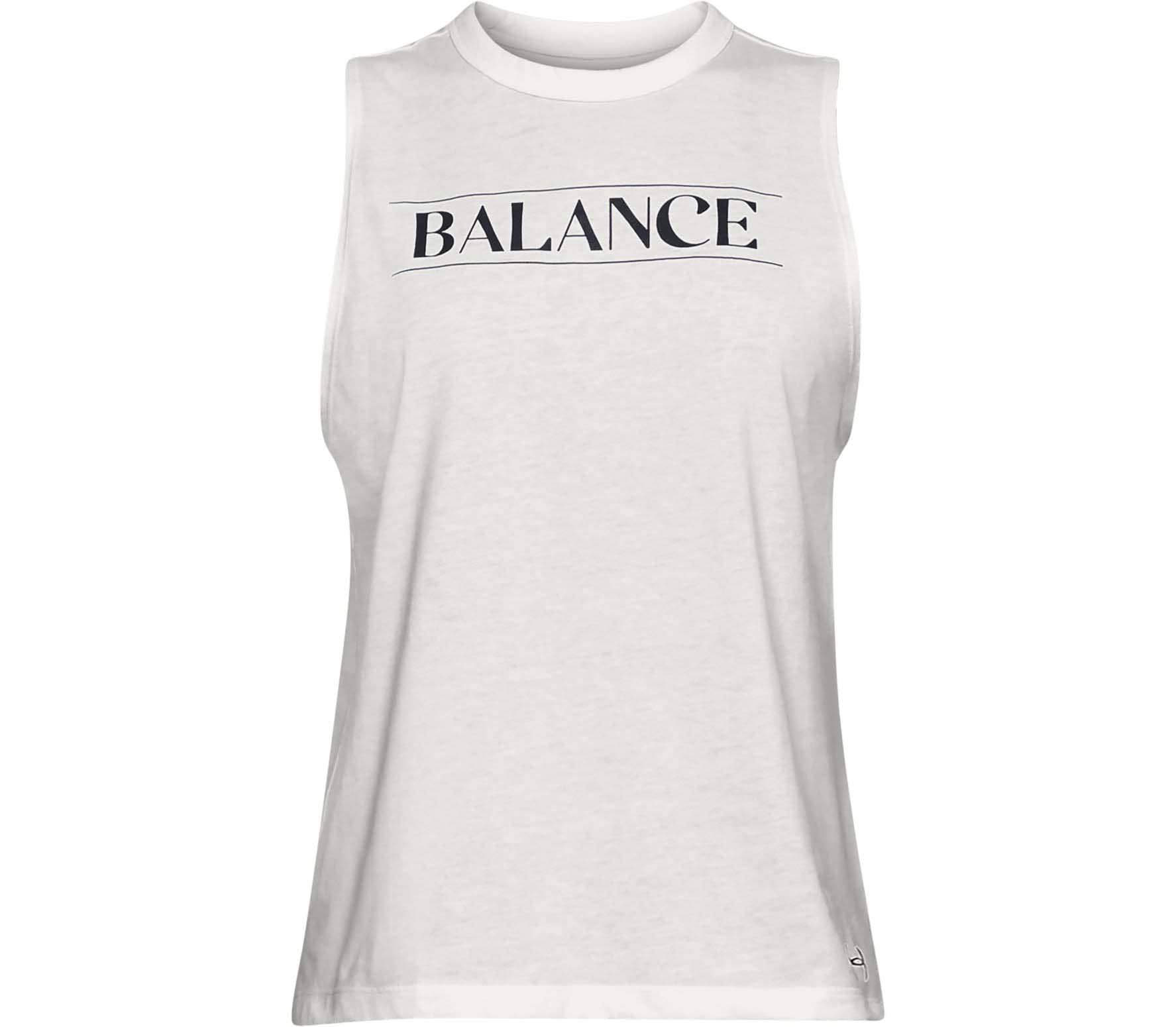 3d38eeb0 Under Armour - Balance Graphic Muscle women's training tank top top (white)
