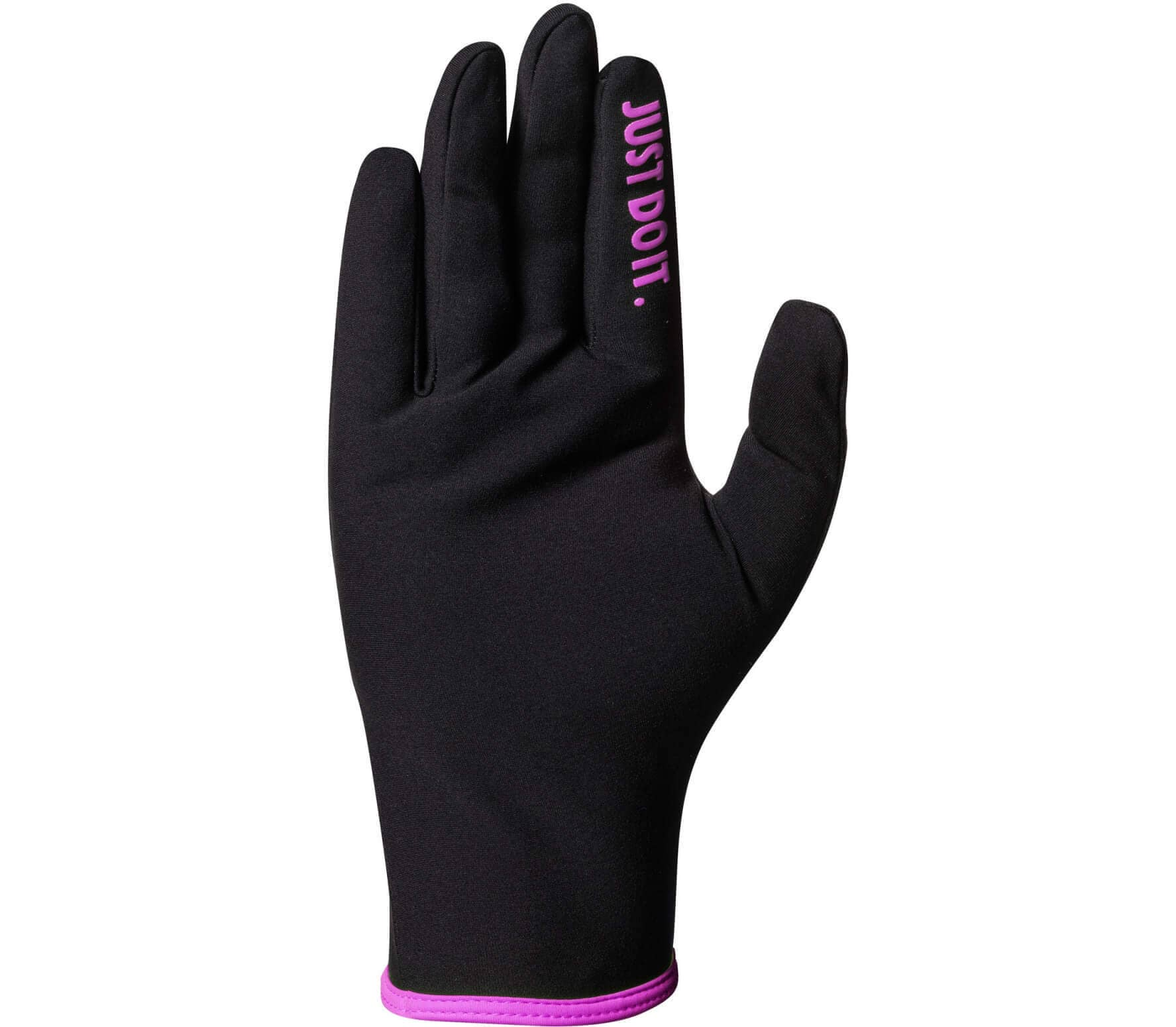 super popular 0c561 82288 Nike - Lightweight Rival 2.0 women s running gloves (black pink)
