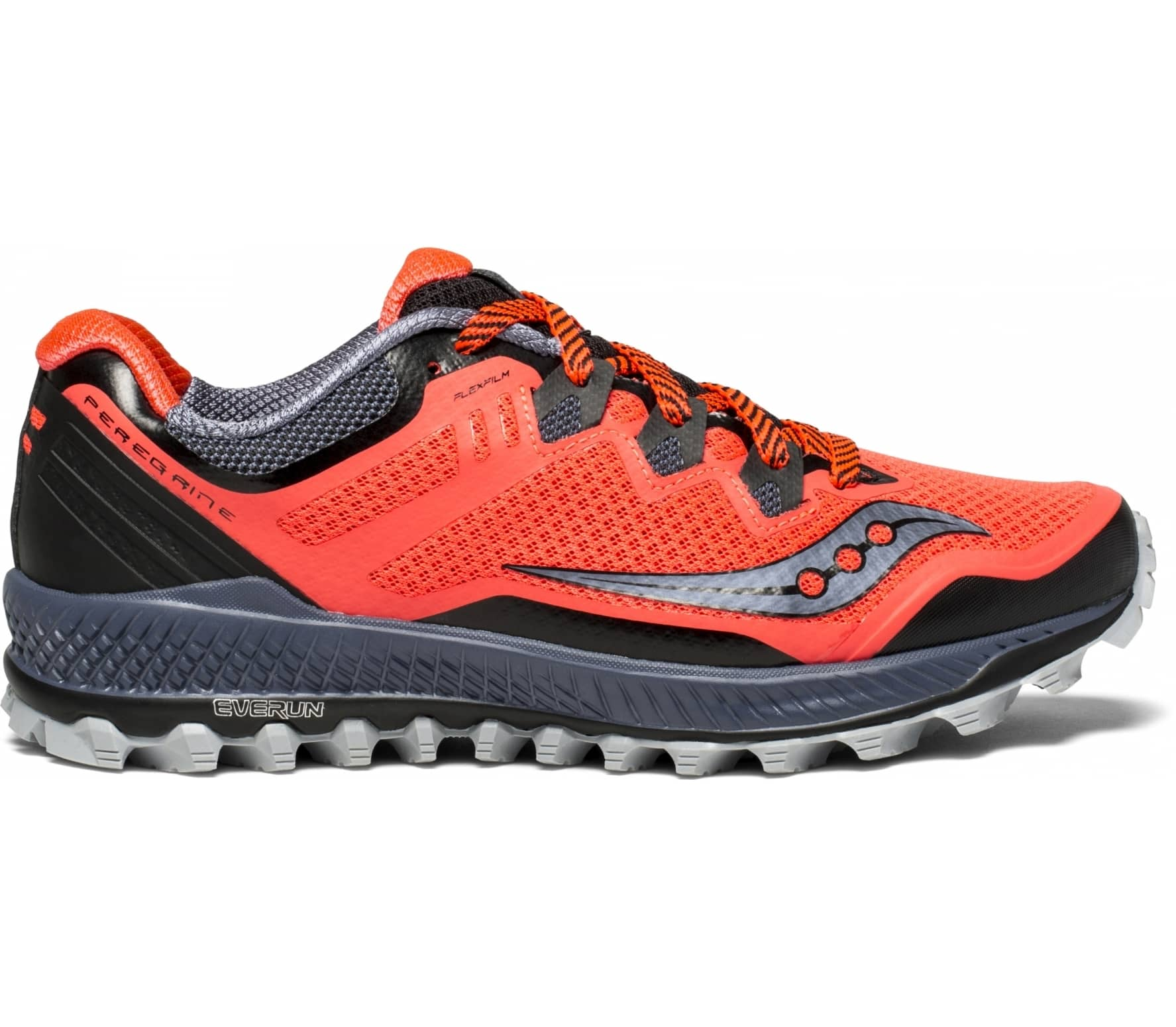 d1260cc531bf Saucony - Peregrine 8 women s running shoes (red black) - buy it at ...