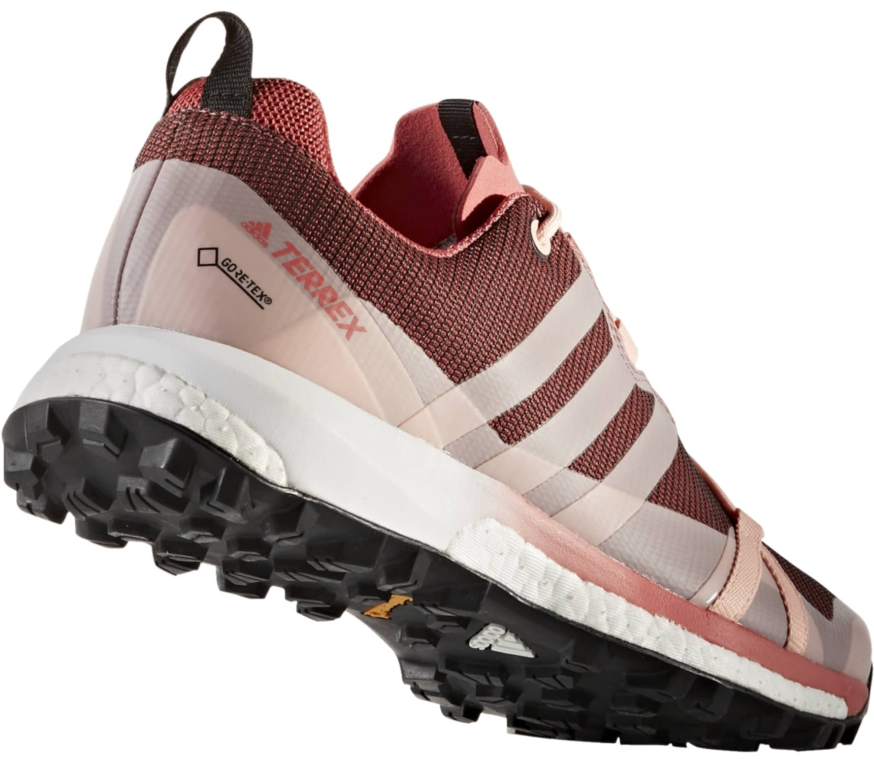 Adidas - Terrex Agravic GTX women's Mountain Running shoes (coral/red)