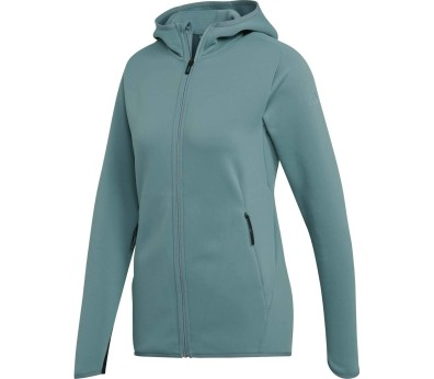 adidas Performance - Freelift CH hooded Mujer chaqueta de chándal (turquesa)