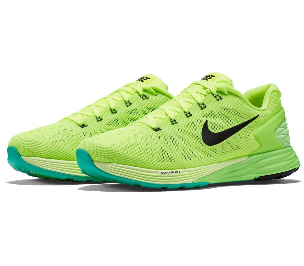 finest selection ca3f2 7babb ... coupon code for nike lunarglide 6 mænd løbesko grøn gul 5ddb7 577cf