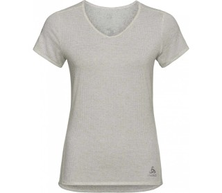 ODLO Lou Linencool BL Top Crew Neck Women Training Top