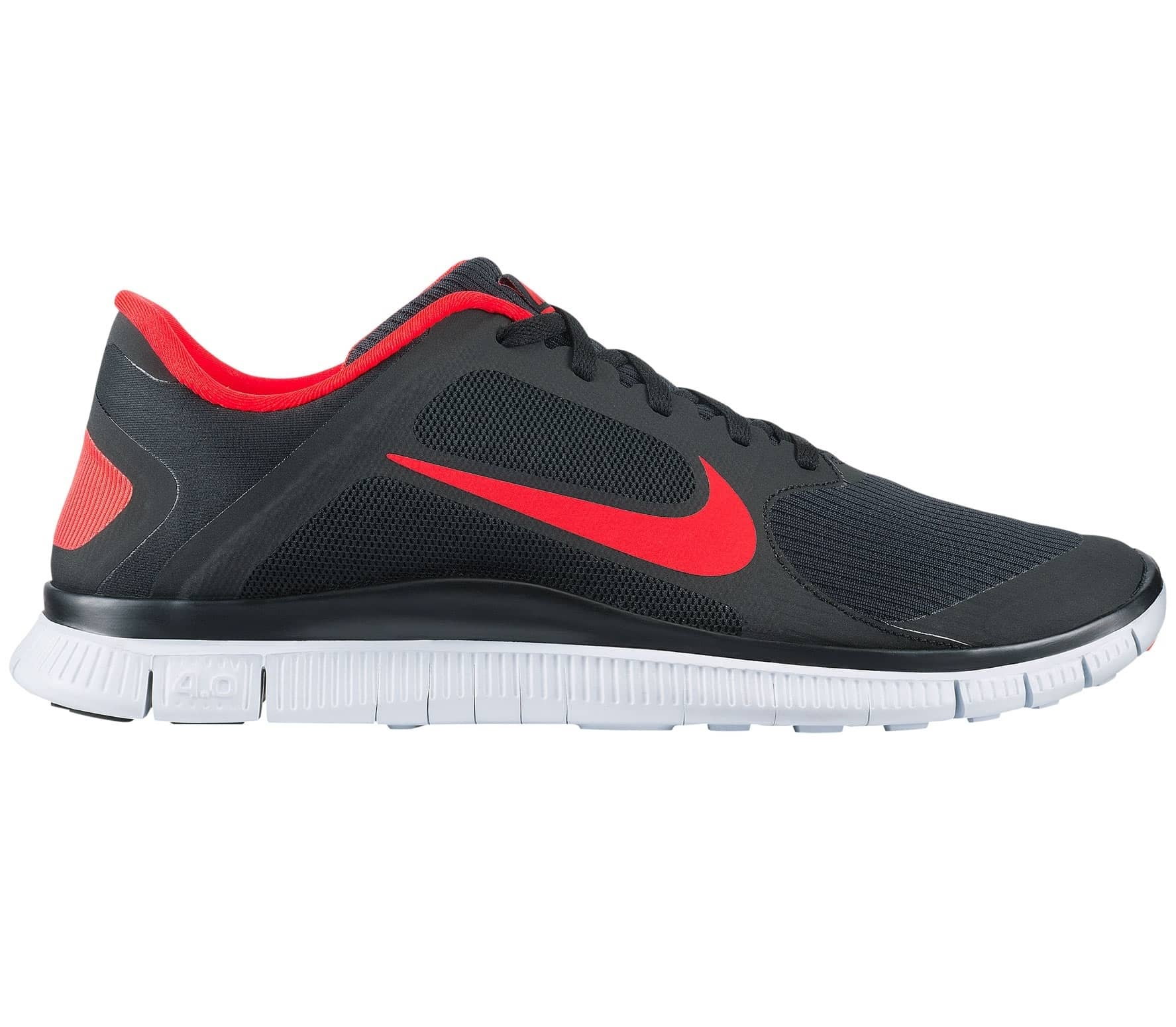 b372827cf94a Nike - Free 4.0 V3 men s running shoes (black red) - buy it at the ...