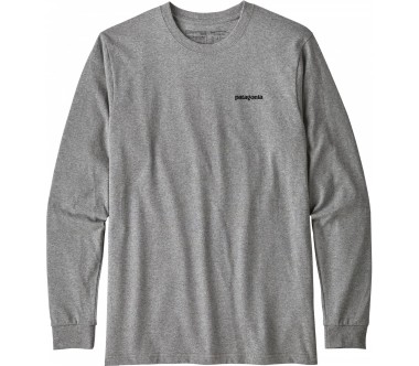 Patagonia - P-6 Logo Responsibili men's long-sleeved top (grey)