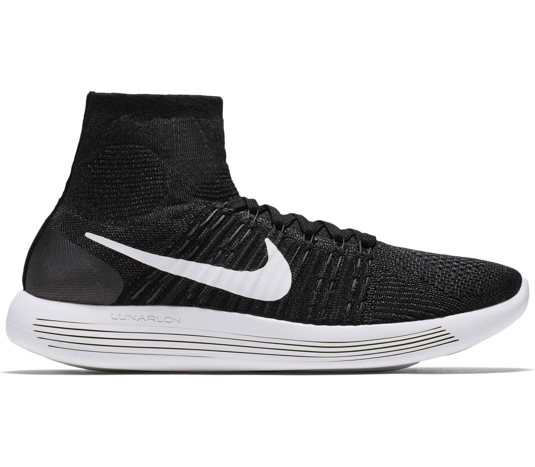 buy popular cb47b 4716a Nike - Lunar Epic Fly Knit Herr löparskor (svart vit)