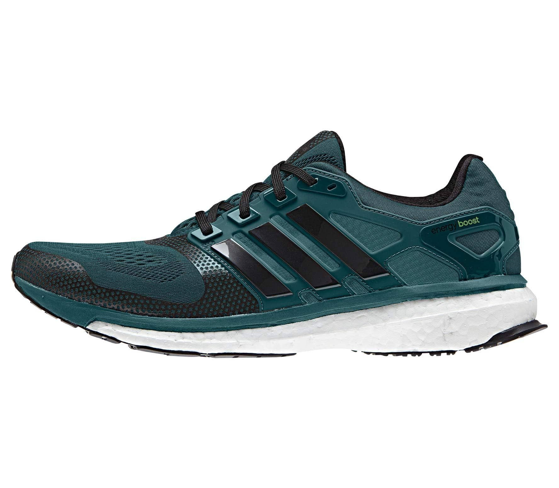 differently 38790 4909f Adidas - Energy Boost 2 ESM men s running shoes (dark green black)