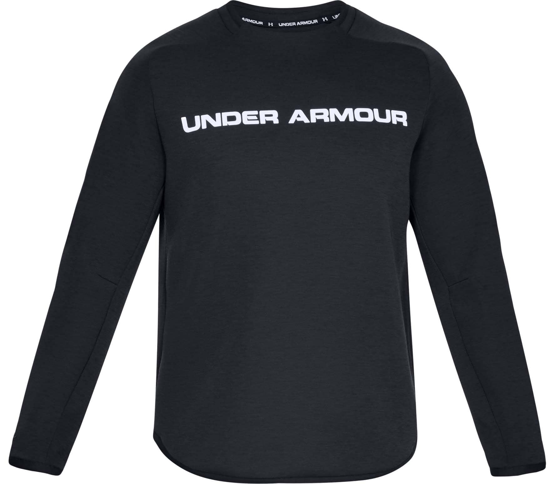Zwart Overhemd Kopen.Under Armour Move Light Graphic Crew Heren Training Overhemd