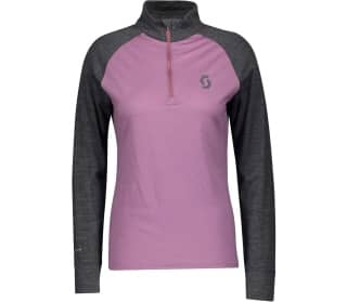 Scott Zip Shirt Defined Merino Women Midlayer
