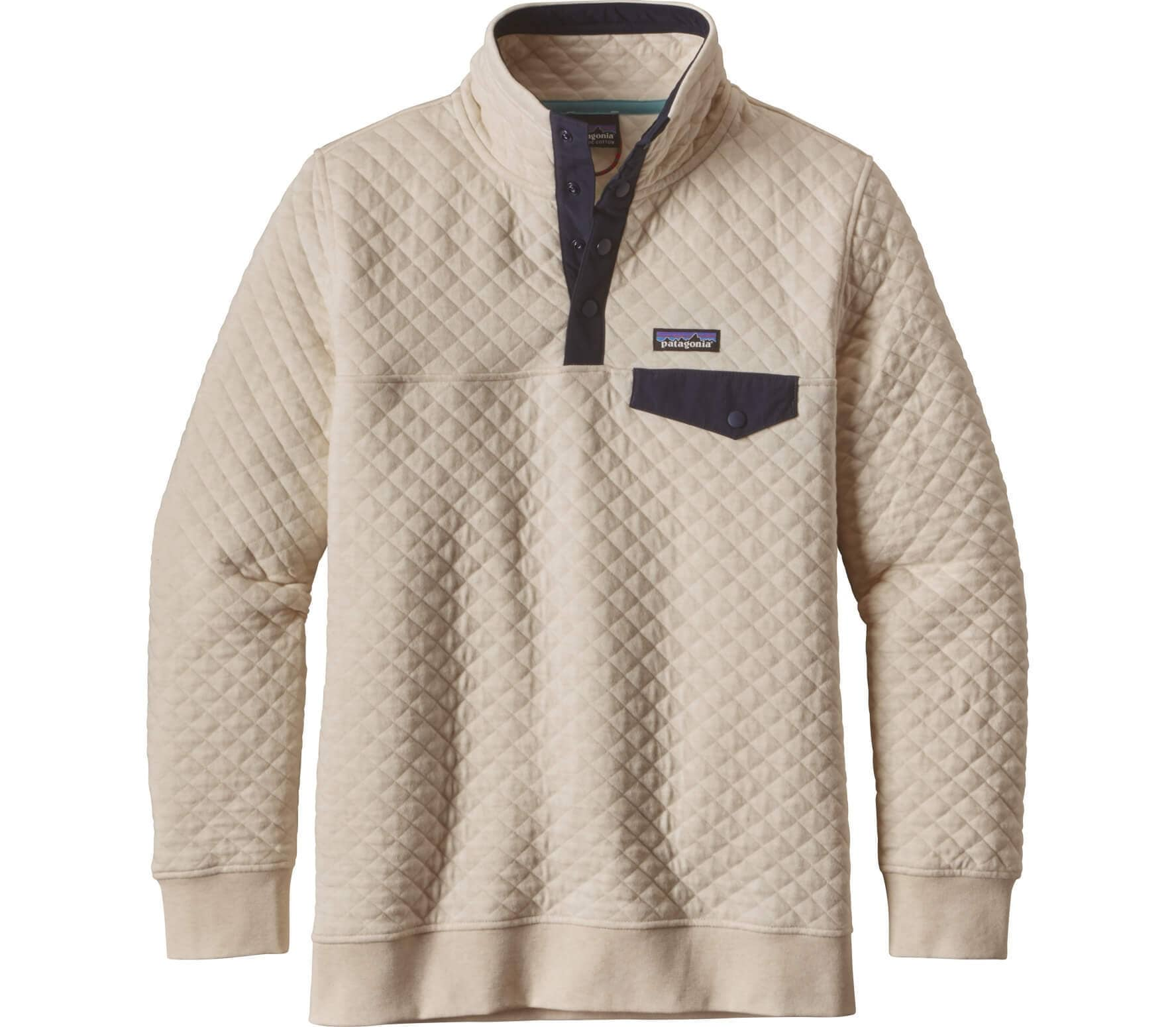 finest selection a443a 75e23 Patagonia - Cotton Quilt Snap-T women's pullover (white)