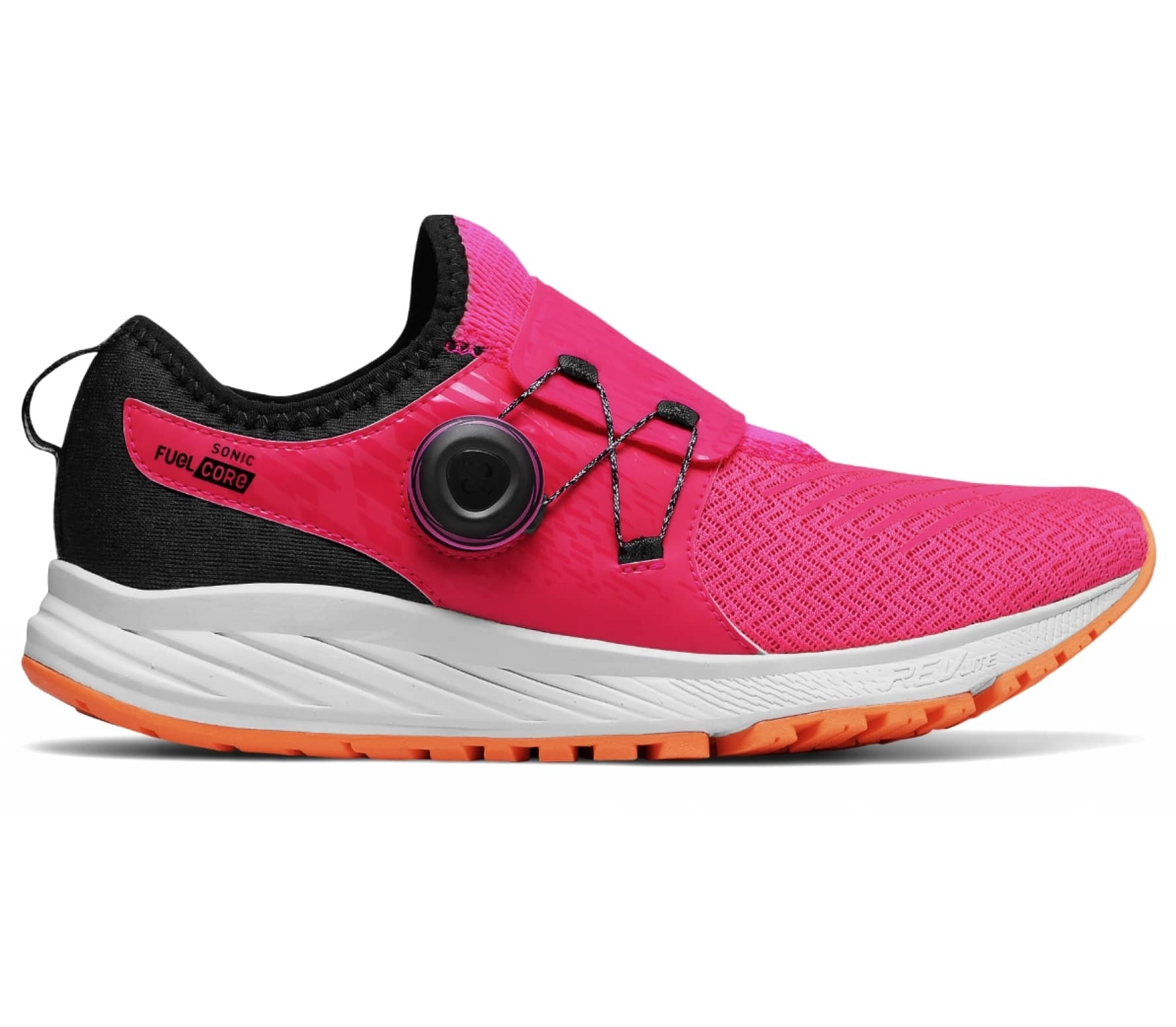 cheap for discount e17e3 c03cb New Balance - Fuelcore Sonic V1 women s running shoes (pink white)