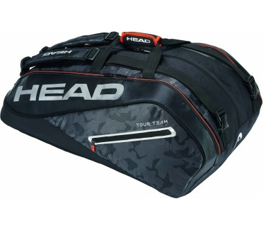 Head - Tour Team 12R Monstercombi Tennistasche (schwarz/silber)