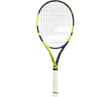 Babolat - Pure Aero Team unstrung tennis racket (black/yellow)