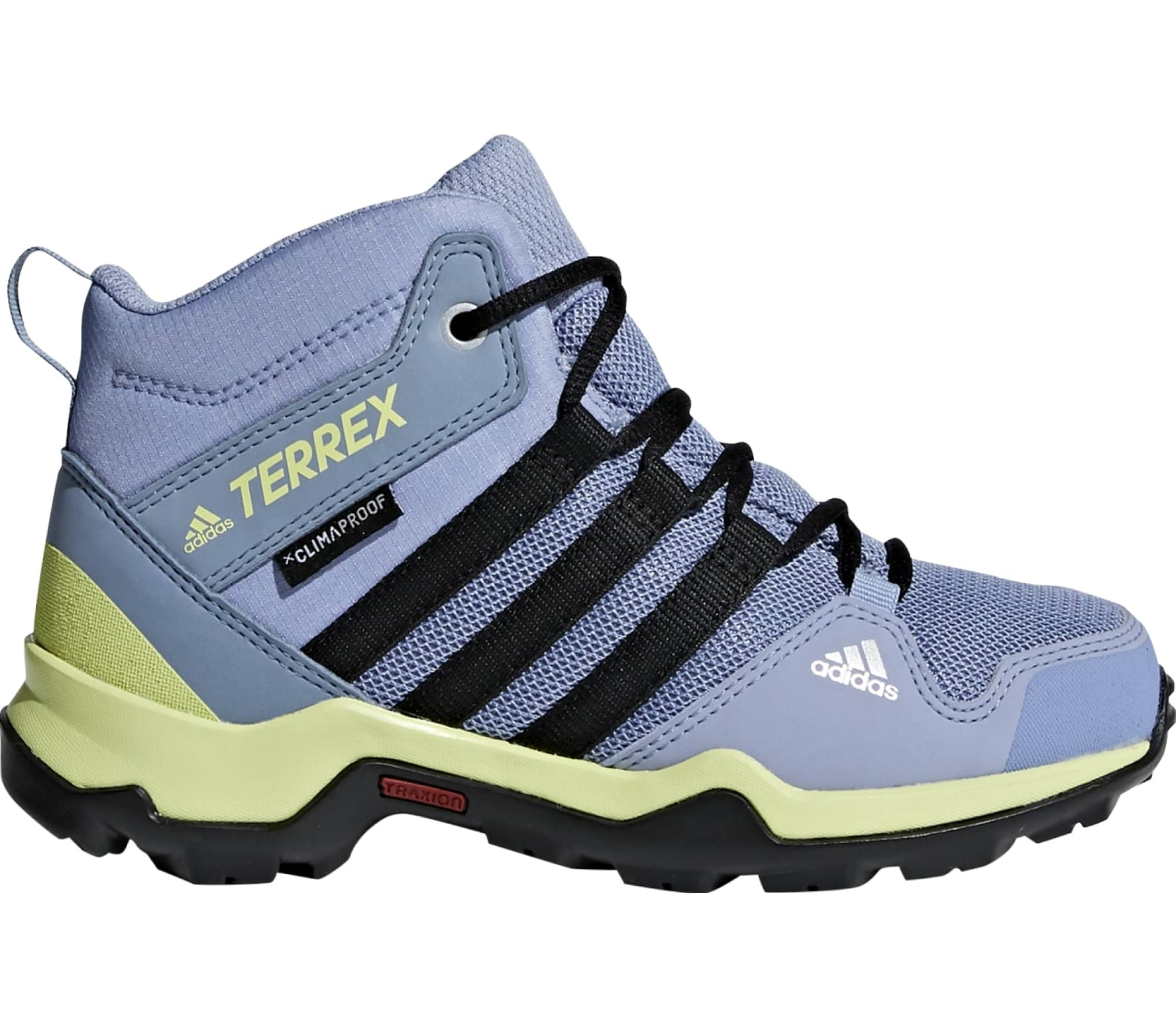 3d28d07532bdc Adidas - Terrex AX2R Mid CP children s hiking shoes (blue yellow ...