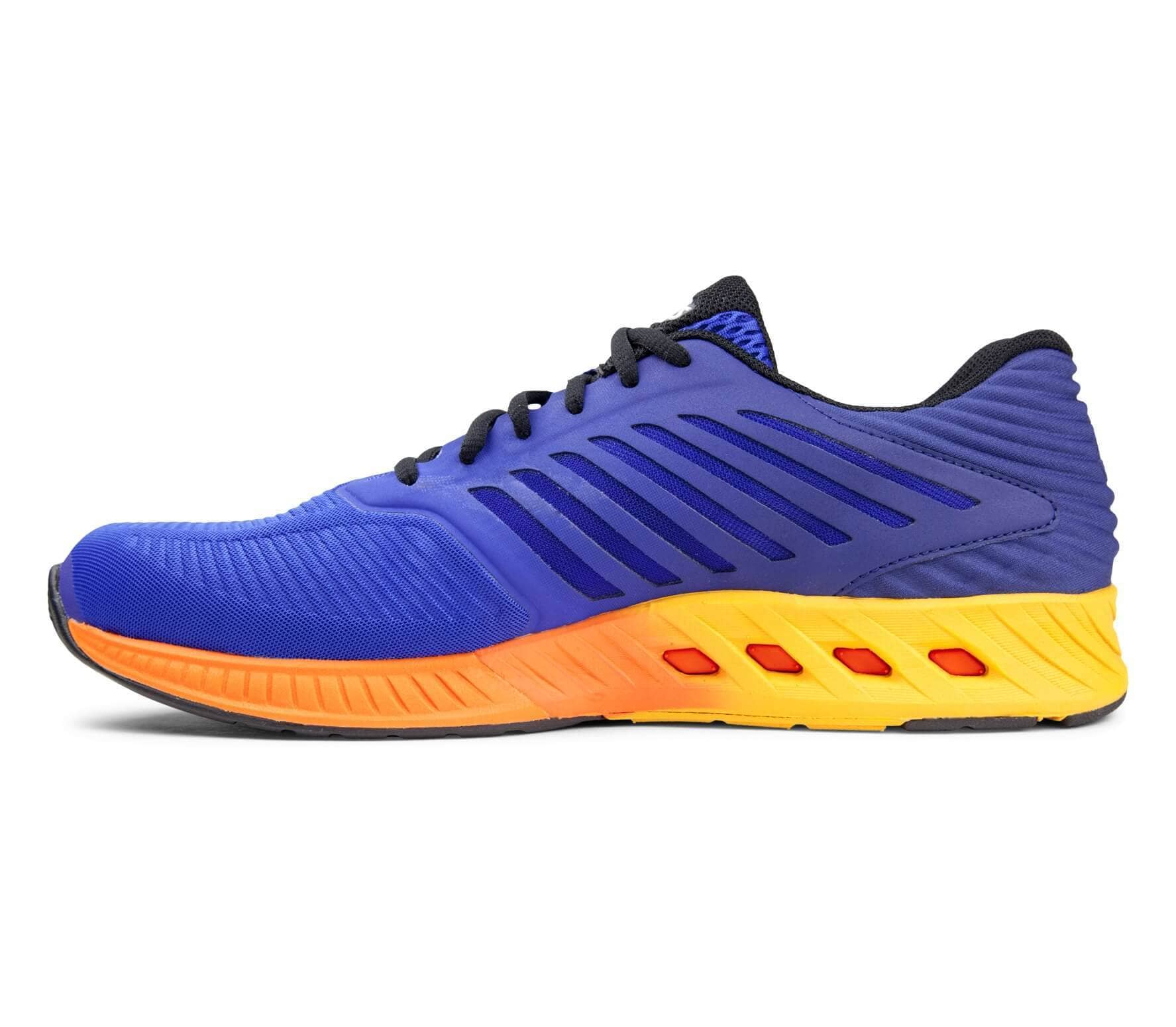 Asics Men S Fuzex Running Shoes Blue Orange