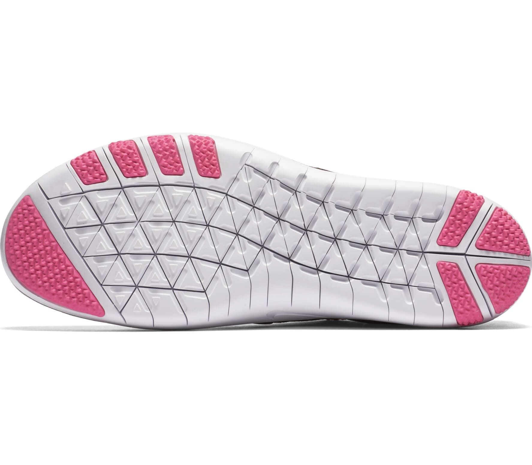 Nike - Free Focus Flyknit Damen Trainingsschuh (dunkelrot/pink)