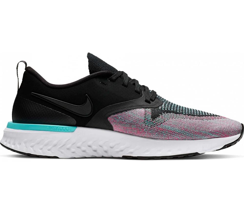 Nike Odyssey React Flyknit 2 Femmes Chaussures running  noir