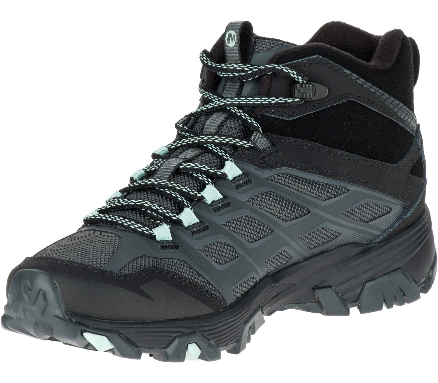 Merrell - Moab FST Ice + Thermo women s winter shoes (grey black ... 086184b81a