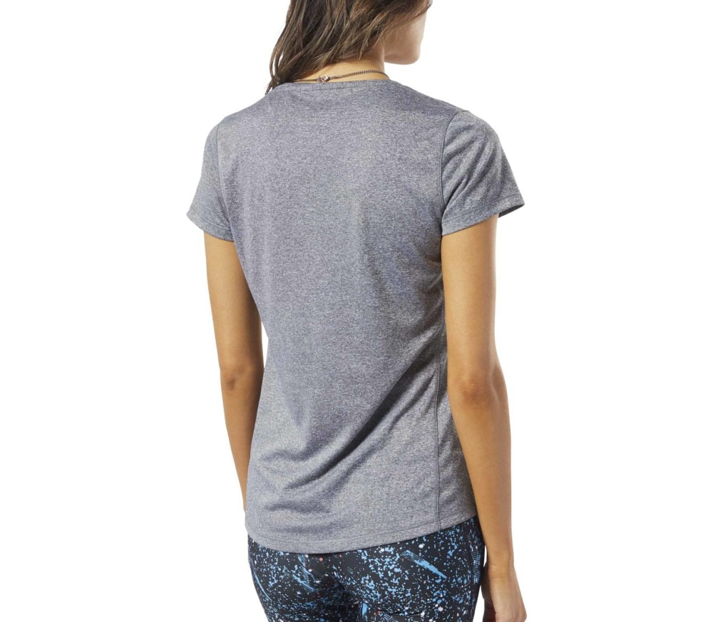 Reebok One Series Damen Laufshirt grau