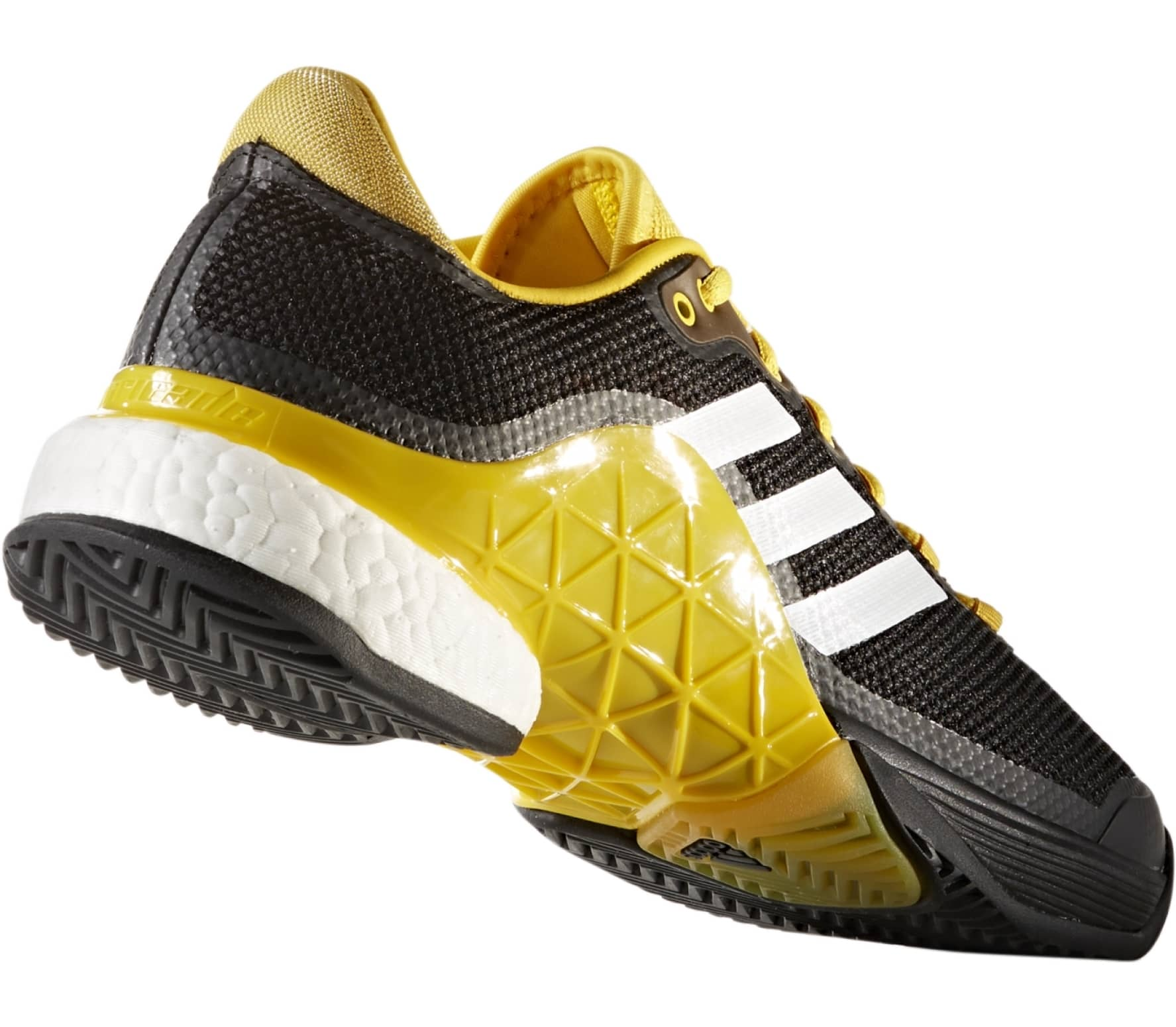 81ef507dfb9c Adidas - Barricade 2017 Boost men s tennis shoes (black yellow ...