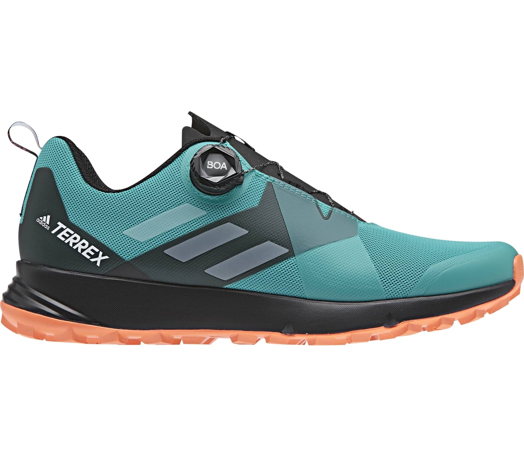 Adidas - Terrex Two Boa Men s hiking shoes (turquoise orange) - buy ... 50b8fef75