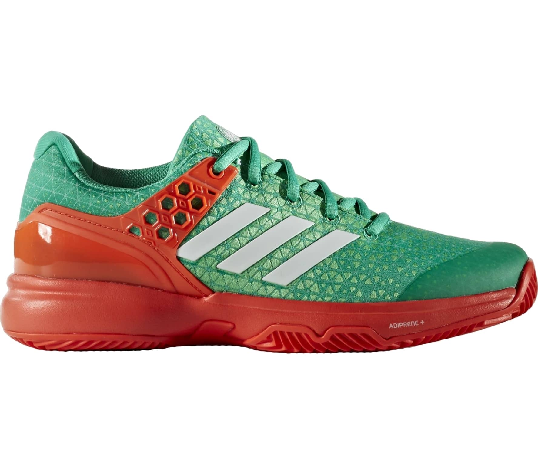 the latest 68614 5d22c Adidas - Adizero Ubersonic 2 Clay Textile womens tennis shoes (greenred)
