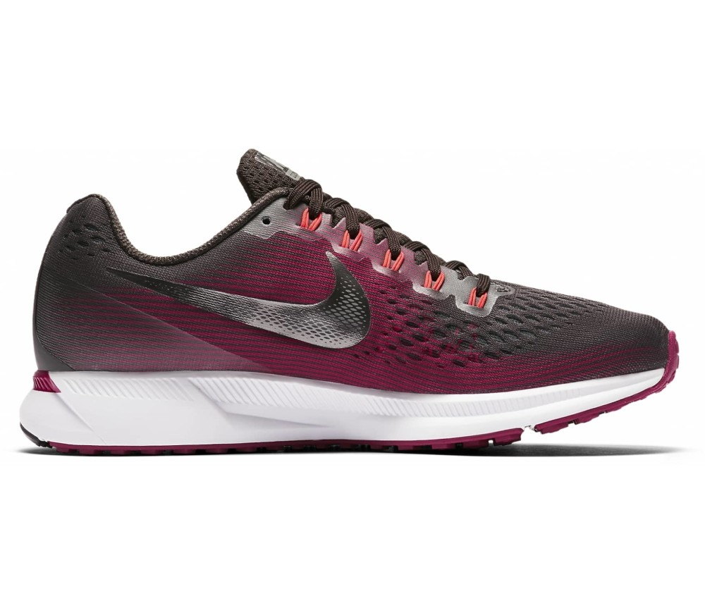 nike air zoom pegasus 34 gem damen laufschuh braun. Black Bedroom Furniture Sets. Home Design Ideas