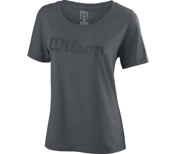 WILSON Script Cotton Women Tennis Top - 1