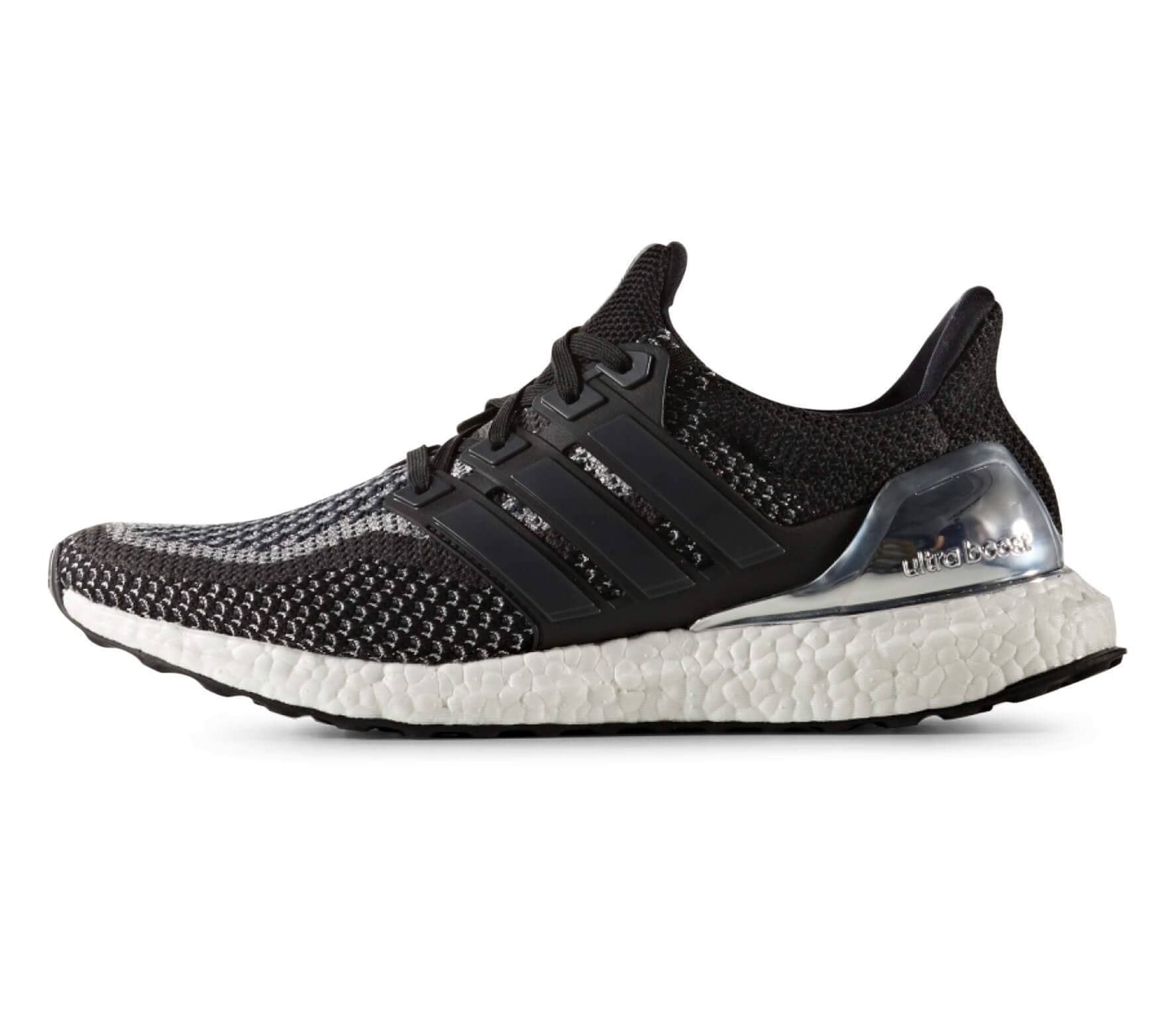 low priced 5e0ab 2d19d ... switzerland adidas ultra boost ltd hommes chaussure de course noir  argent ac469 eed06