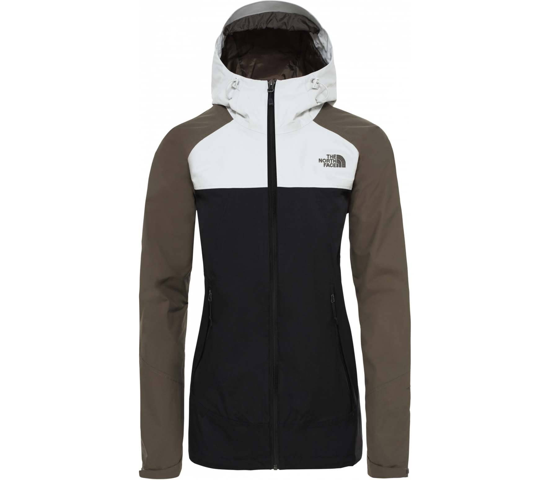 low priced 7bf04 87389 The North Face STRATOS Damen Regenjacke schwarz