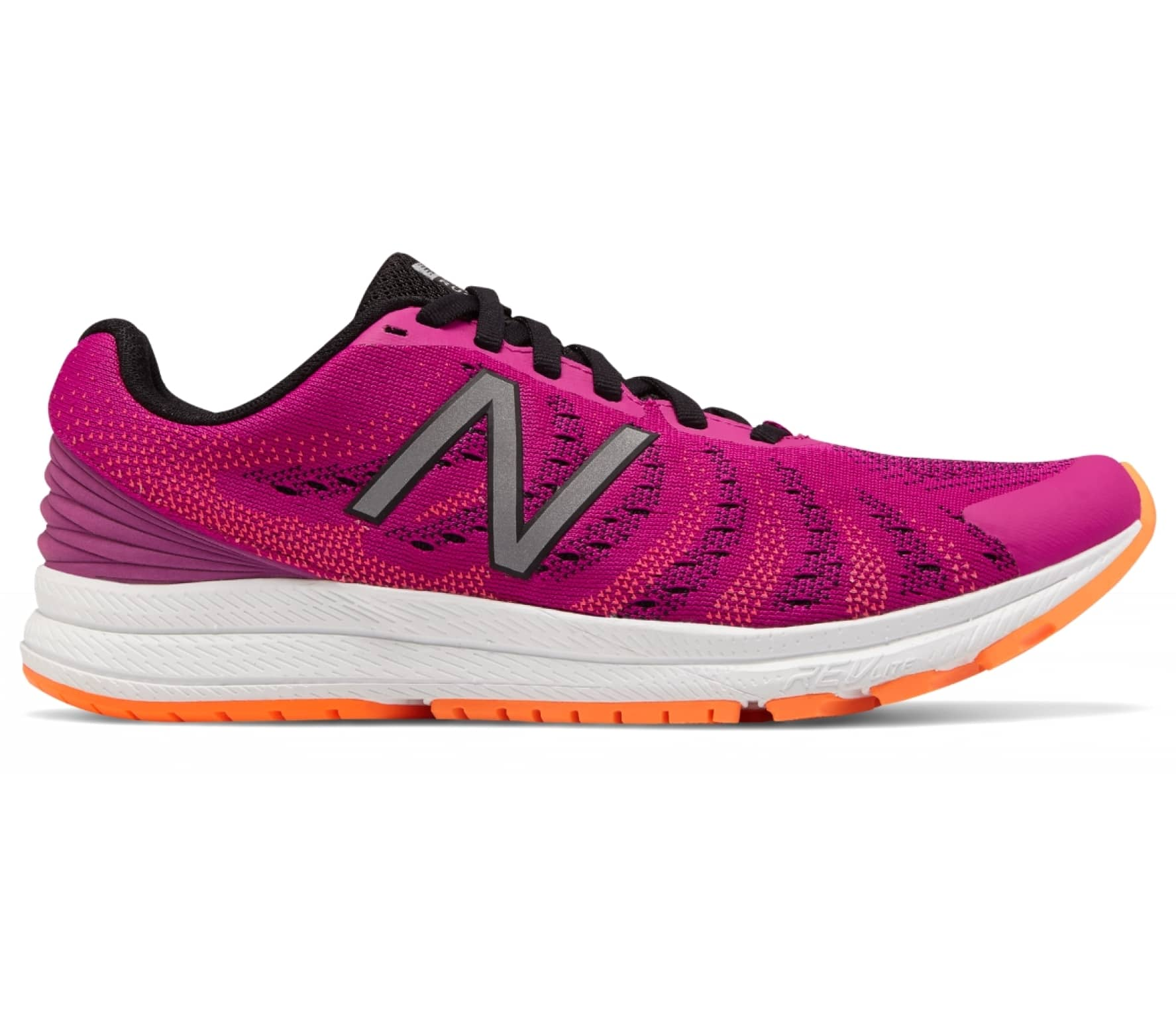 newest 24258 a986b New Balance - Fuelcore Rush v3 women s running shoes (pink black)