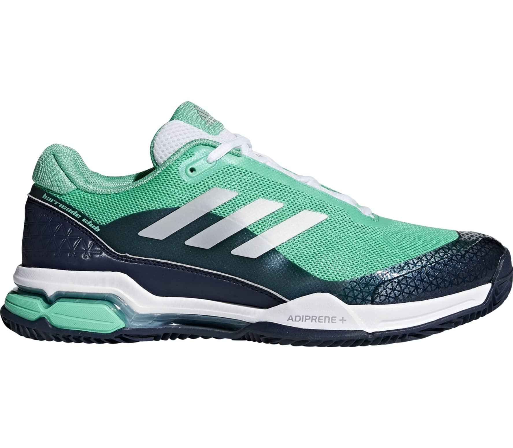 Adidas - Barricade Club Clay men s tennis shoes (green black) - buy ... 5bbdad2a1
