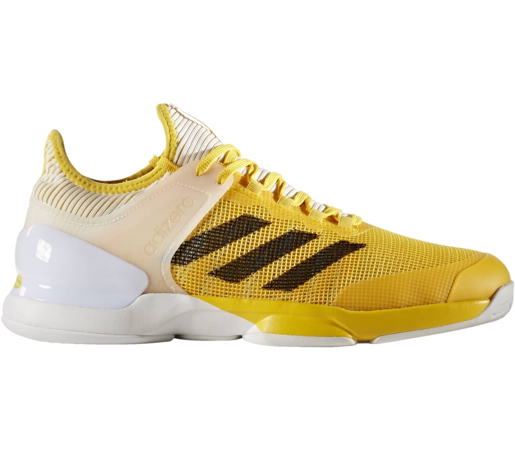 Adidas - Adizero Ubersonic 2 men s tennis shoes (yellow white) - buy ... 8c44dd62c