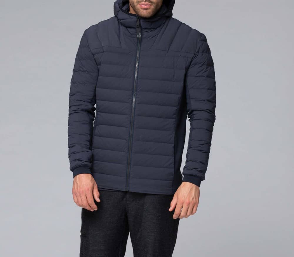 Performance Stretch Hoody Hommes Doudoune