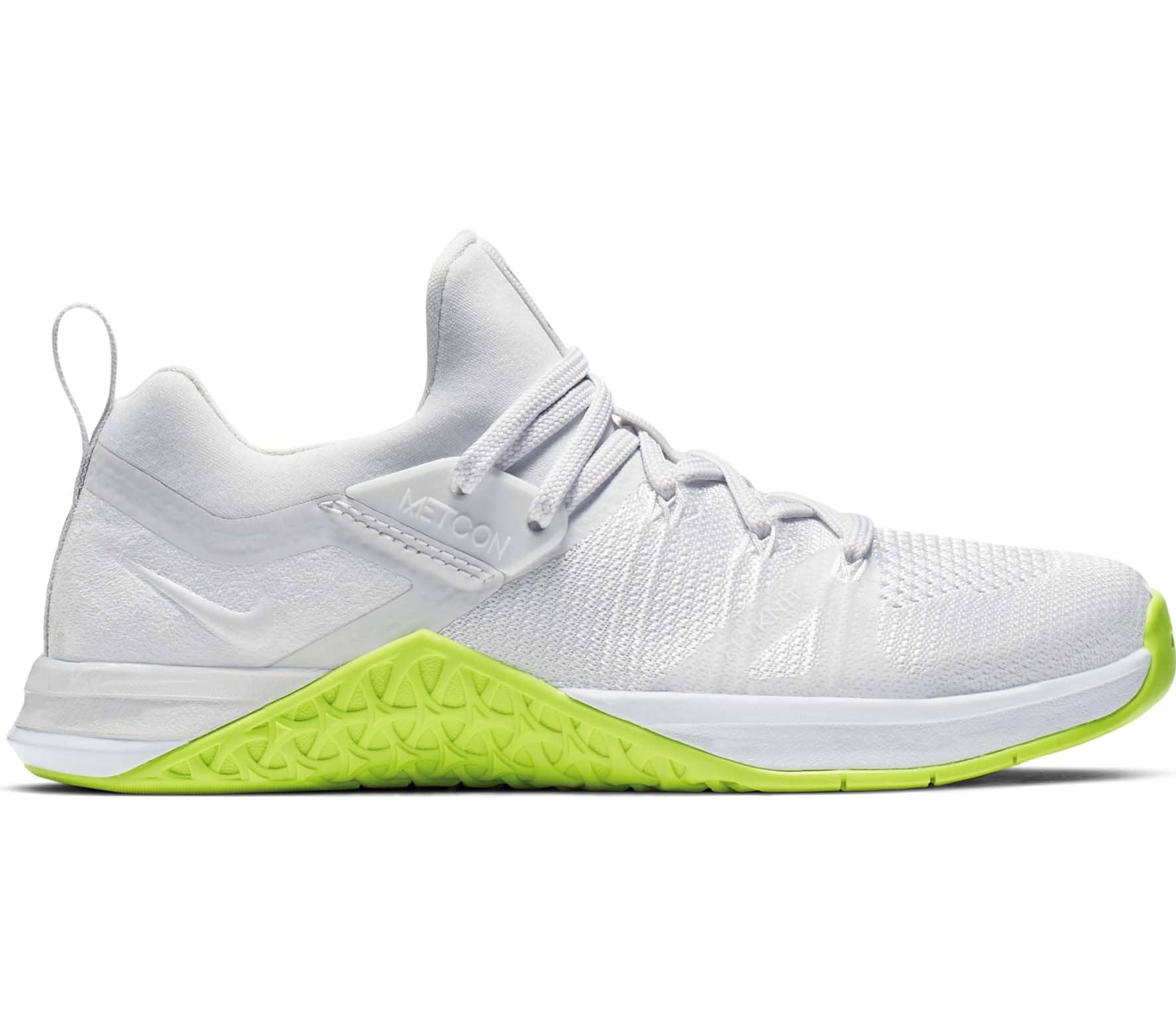 sale retailer a2d13 cef09 Nike - Metcon Flyknit 3 women s training shoes (white yellow)