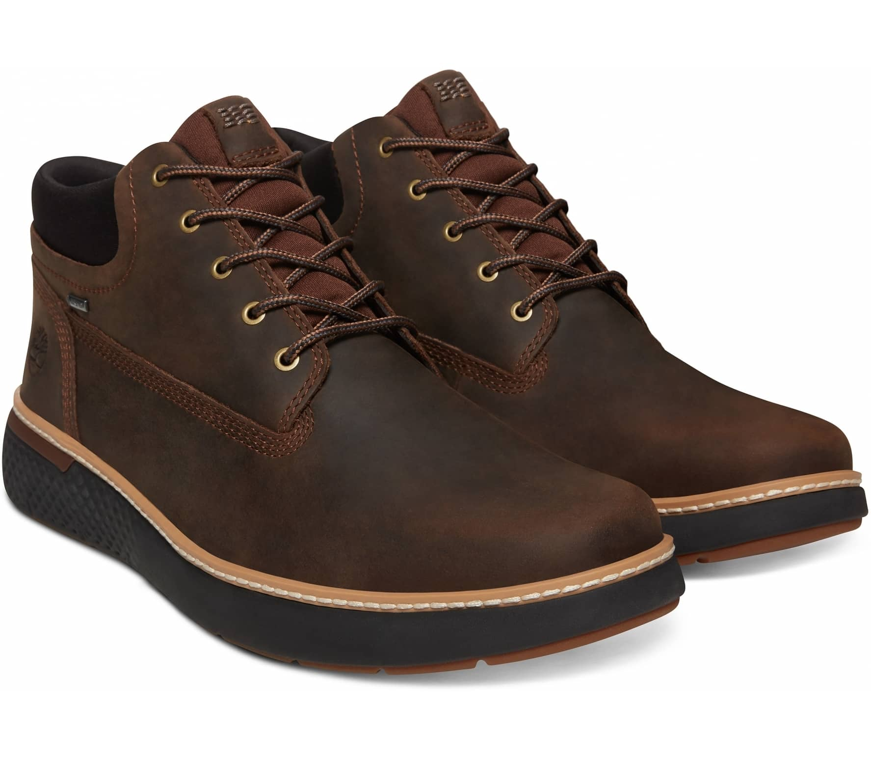 Timberland - Cross Mark GTX Chukka Uomo Mountain Scarpe lifestyle (marrone  scuro nero) cbac19d2685