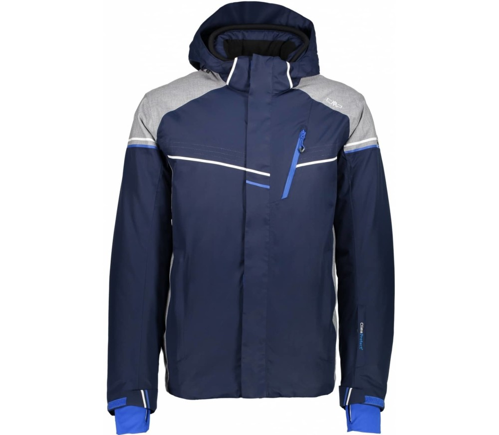 CMP Zip Hood Jacket men's skis jacket (bluegrey)