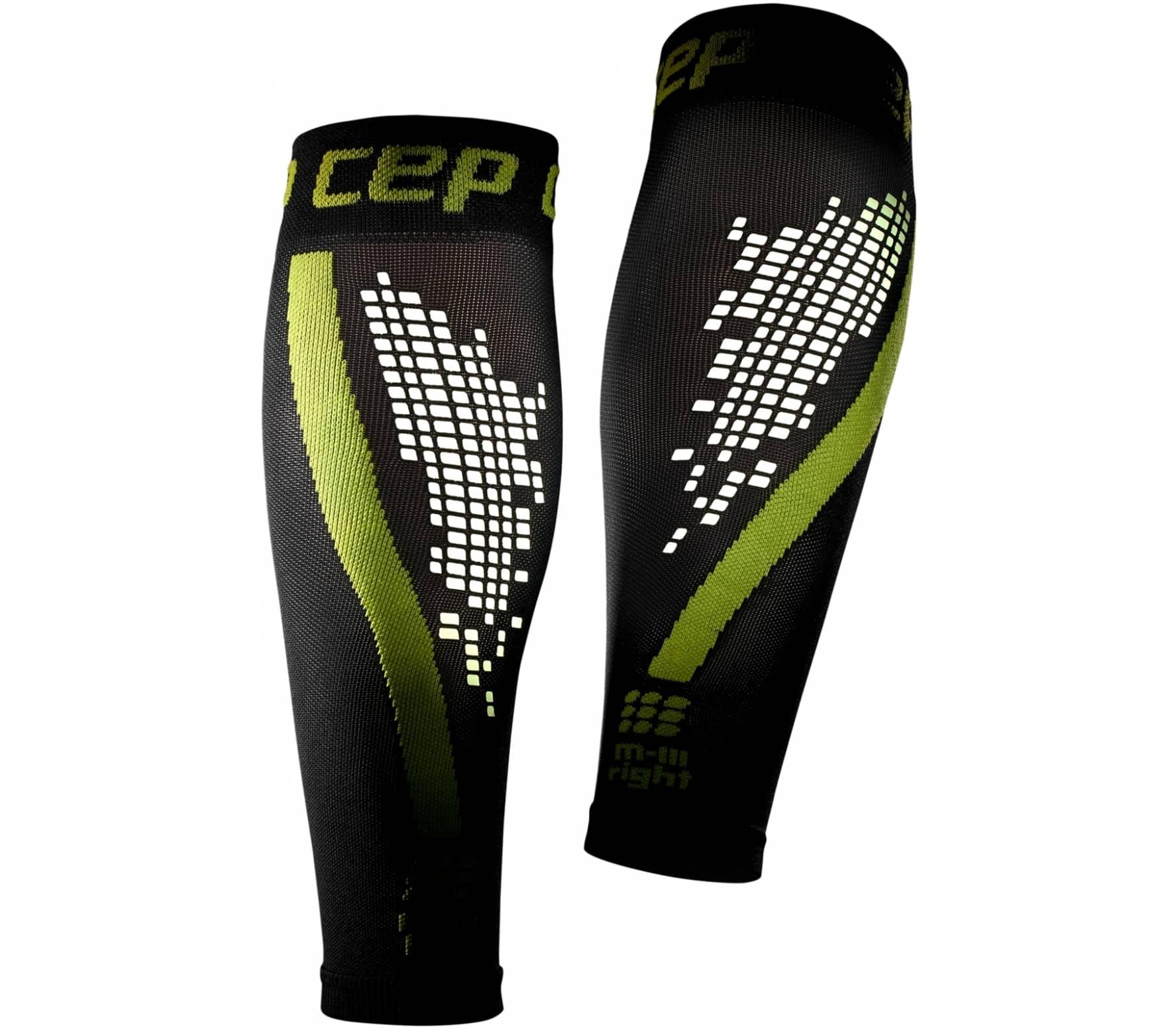 CEP Nighttech calf sleeves Herr svart