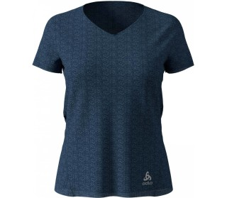 ODLO V-Neck Lou Linencool Damen Trainingsshirt